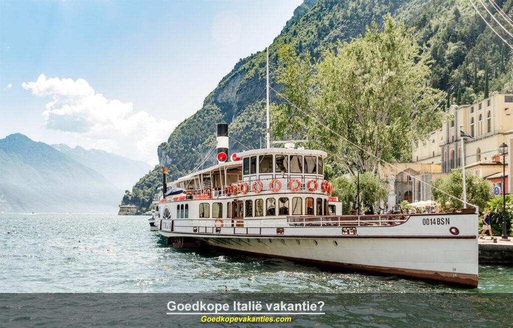 Goedkope vakantie Italië