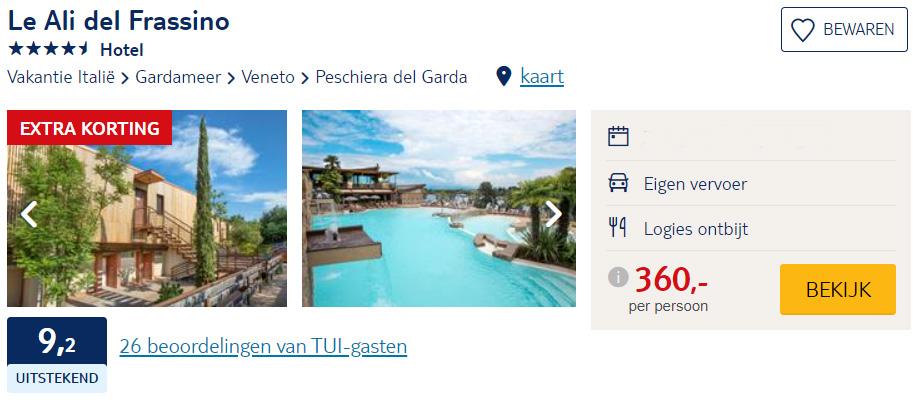 goedkope Italië vakantie