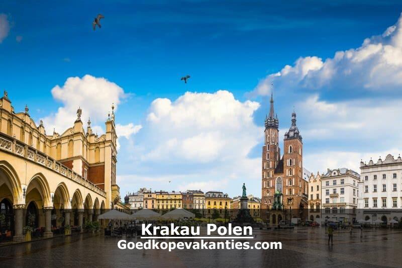 Goedkope vakantie Polen Krakau stedentrip